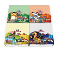 Wholesale 324pcs set Poke Go Cards XY English Words Pocket Card Anime EX Trading Game Cards Pop Box Kids Toys DHL