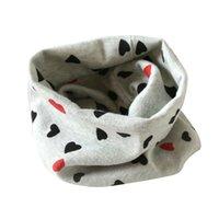 Acheter Foulards en coton de marque de gros-Grossiste- SIF 2016 Nouveau bébé bébé silencieux écharpes chaudes Garçons filles de coton tricoté O Ring Style Designer Knitting Kids Neck Warmer Skarf