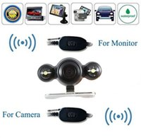 Wholesale Wireless GHz transmitter receiver for rear view car camera and front video screen