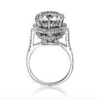antique design rings - High Quality New Design Karat Luxury Design Vintage Antique Sona NSCD Engagement Ring Fabulous Ring With Synthetic Diamod