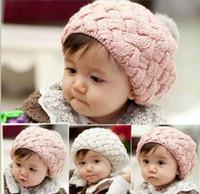 Cheap Unisex baby hat Best Winter Crochet Hats props beanie