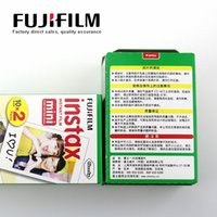 Wholesale 100 Original Fujifilm Fuji Instax Mini Instant Film White Edge for s s i SP1 dw Mini Instant Camera DHL Free ship