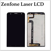 For Asus LCD Screen Panels Bar For Asus Zenfone Laser 5.5 Inch LCD Display Panel Touch Screen Digitizer Glass Assembly Replacement