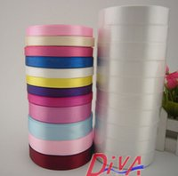 apparel goods - Good quality Silk Satin Ribbon mm Meters Wedding Party Festive Event Decoration Crafts Gifts Wrapping Apparel Sewing