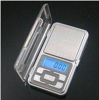 al por mayor joyas x-La nueva mini joyería electrónica electrónica de 200g x 0.01g pesa la exhibición del LCD del gramo del bolsillo del balance de la escala con precio al por menor de la fábrica de la caja