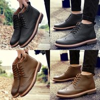 best dress boots - Discount Add Wool Men s Geniune Leather Shoes Man Causal Shoes Best Boots Dress Shoes Winter Man Dress Shoes Leather Shoes Martin Boots