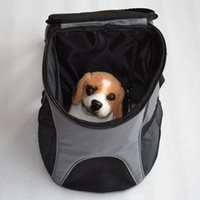 Wholesale Cat Dog Pet Carrier Mesh Pup Pack Soft sided Outdoor Travel Backpack