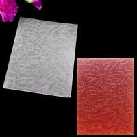 Wholesale Note Plastic Embossing Folder for Scrapbook DIY Album Card Tool Template