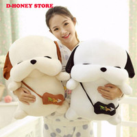 Wholesale New Fashion Korean Plush Dog cm cm Lovers Presents Creative Cottton Animal Soft Stray Dogs Toys For Children