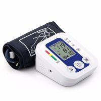 Wholesale Portable Arm Blood Pressure Pulse Monitor Digital Upper Blood Pressure Monitor Meters Sphygmomanometer Health care Monitors