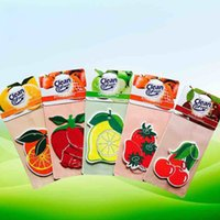 Wholesale Paper Air Freshener Paper Perfumed Car Air Freshener Any Shape Will Mix It Free DHL XL A100
