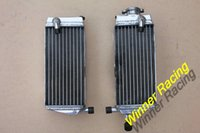 Wholesale L R MM ALUMINUM Alloy RADIATOR FOR HONDA CR250R water box motorcycle replacement parts engine cooling parts