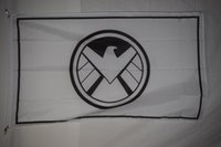 Polyester baseball agents - Avenger And Marvel Agents Of Shield Negative Advertising Promotional Banner Flag X5Ft Custom Football Hockey College Baseball Flag