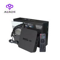 Wholesale 10pcs MXQ K Android Smart TV Box Quad Core Bit Rockchip RK3229 MXQ UHD K Media Player KODI XBMC skylive Fully Load iptv Smart TV Box