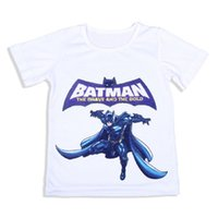 batman brave - Batman The Brave and The Bold White Cotton Boys T Shirt Summer Short Sleeved Years Children Tees Tops