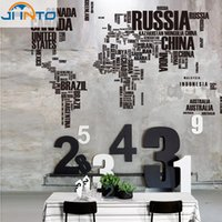 abstract of paper - ome Decor Wall Stickers New Design XXL190 cm Wall Sticker Map of the World for Learning Study Art words sayings Vi