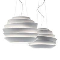 aluminium knob - Foscarini Le Soleil Wave cm White Rose Suspension Simple Style Pendant Lamp Aluminium Chandelier Droplight Light E27 Light Fixtures