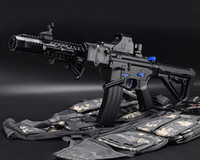 battle gun toys - M4 Terminator Toy Gun Electric Water Bullet Bursts Gun Outdoors Battle Paintball CS Cool Black Toy Gun Kids Toys
