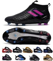 Men ace brand - Mens High Ankle Football Boots ACE Purecontrol FG Soccer Shoes Futsal ACE Pure Control Copa Soccer Cleats Brands