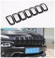 Wholesale For Jeep Cherokee Front Grille Inserts Mesh Grill Accessories