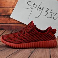 Cheap 2017 Adidas Yeezy Boost 350 Pirate Black BB5350 Mens Running Shoes Women Wholesale Kanye West Yeezy 350 Yeezys Season Yeezy Online