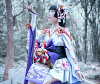 Wholesale in and Yang master Mobile Games Snowgirl Yuki onna character cosplay Cherry moon cosplayXuenv enothera cosplay