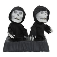 animate housing - New Listing Animated Double Dancing Reapers quot Tall Singing and Dancing Change Colors Halloween Haunted House Decorations