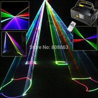 beam laser systems - New mw RGB Laser Lines Beam Scans Remote DMX DJ Dance Bar Coffee Xmas Home Party Disco Effect Lighting Light System Show D77