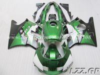 Carenados negros verdes para Honda CBR600 F2 1991-1994 1992 1993 CBR 600 F2 91-94 CBR600 F2 91 92 93 94 # v28w6 el envío libre