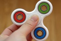 Wholesale 2017 fidget spinner hand spinner ABS Puzzle Spinning top gag toys children boys gifts