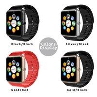 Montre de fitness de santé à puce Prix-GT08 Bluetooth Smart Watch NFC Santé Watchs pour Android Samsung et IOS Apple iphone Smartphone Bracelet Smartwatch