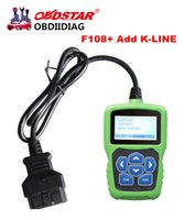 add programmes - OBDSTAR F108 OBDSTAR F108 Plus PSA PIN CODE Reading and Key Programming Tool for Peugeot Citroen DS F108 Newly Add K LINE