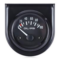 Ракушка масло Цены-Манометр B742 Цифровой Механический масла с датчиком для автомобиля Высокая точность и простота в эксплуатации Black Shell And White Light