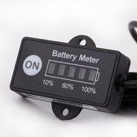 Wholesale 12V V LED Battery Indicator Level Meter Gauge for Lead acid Battery hot sell coolcity2012