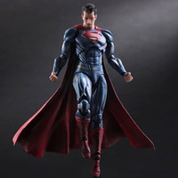 art clark - Superman Action Figure Clark Kent Model Toy PLAY ARTS Dawn of Justice PVC Action Figure Batman v Superman Playarts Kai Playarts
