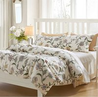 Wholesale Riho S Piece Cotton Rural Floral Rose Elegant Comfortable Bedding Sets Bedding Sheets Bedding Duvet Cover Sets Beige