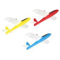 Venta al por mayor- DIY artesanal de peso ligero de espuma de avión de mano de lanzamiento planador modelo de avión de vuelo juguete de los niños juguetes educativos de aprendizaje