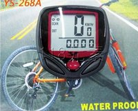 Wholesale 15 Function Waterproof Wire Bicycle Odometer Digital Multifunctional Bike speedmeter Bicycle Speedometer