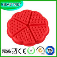 baking pan manufacturers - Manufacturer Quality Guarantee Flower Shape Silicone Waffle Maker Mold Pizza Muffin Pan Cake Baking Pan