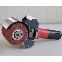 220V 800W máquina eléctrica del dibujo del alambre, máquina pulidora portable para el tratamiento de pulido del espejo del acero inoxidable Velocidad ajustable