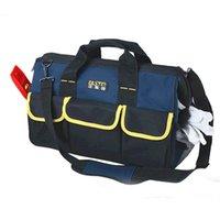 Wholesale High Quality quot oxford cotton Pocket Multifunction Tool Bag Large Capacity Professional Repair Tools Bag Messenger Bag