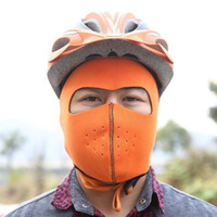 Wholesale Outdoor Beanies cycling warm hat Riding masks bike cap fleece wind protection thermal protection mask degree ski masks