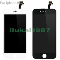 Wholesale Grade AAA For iPhone G LCD Screen Touch Digitizer Assembly Inch with Cold Press Frame No Dead Pixel