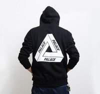 Wholesale 2017 new Spring Palace Skateboards Hoodies Men Cotton Hip Hop Hoodies Sweatshirt Sport white Hba Hombre