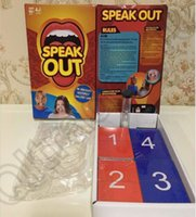 Wholesale Speak Out Board Game KTV Mouthguard Challenge Game Funny Family Party Popular Game Christmas Gift OOA935