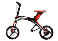 Wholesale Sportingstar Robstep X1 Electric Bcycle Foldable Self balancing Bike Ah Lith on Battery Bluetooth Support km h w DC Motor Red
