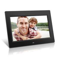 al por mayor la electrónica de imagen-9 '' HD LCD Digital Photo Frame Sensor de Movimiento 1024 * 600 porta retrato Despertador Electrónico Picture Frame MP3 MP4 Movie Player