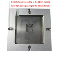 auto stencils - New auto align bga reball jig only wheel control one frame compatible for mm mm stencils