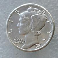 antique mercury - 90 Silver Mercury Head Dimes D Dates Nice Quality Coins Retail Whole Sale