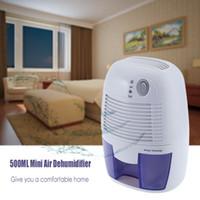 achat en gros de déshumidificateur calme-Hot Sale Portable Mini déshumidificateur 26W électrique silencieux d'air sécheur 100V 220V déshumidificateur d'air compatible pour salle de bains